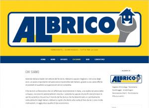 Sito web vetrina della Albrico per news ed offerte.