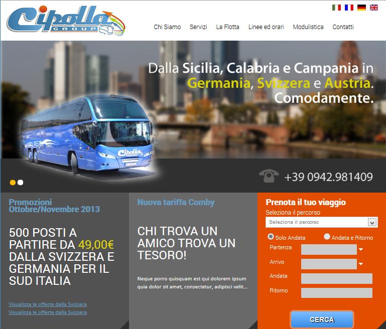 Sito web Cipolla Group