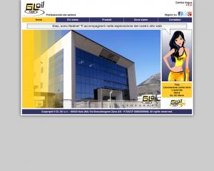GL Oil. Sito vetrina e sito e-commercio in multilingua con la presenza di un avatar per l'interazione con l'utente.