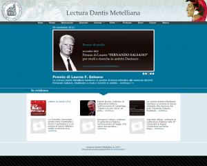 """Lectura Dantis Metelliana. Sito vetrina dell'associazione """"Lectura Dantis Metelliana"""""""